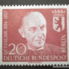 Sellos: ALEMANIA BERLIN 1958. YT:DE-BE 161,. Lote 245217045