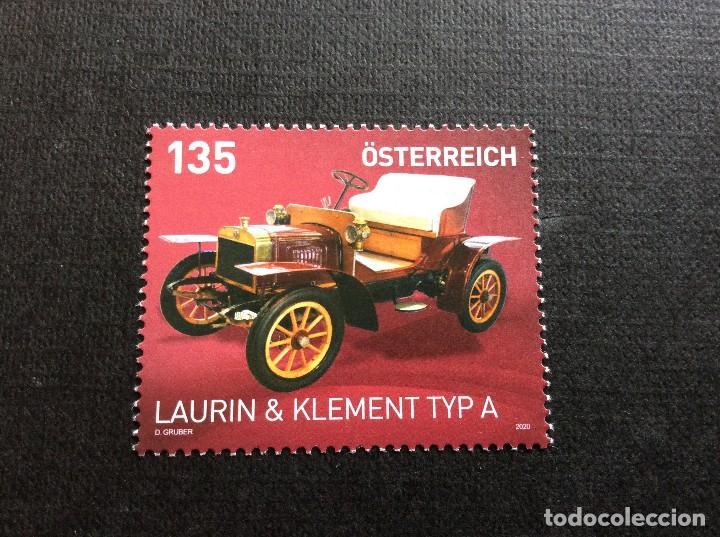 AUSTRIA AÑO 2020. AUTOMOVIL. LAURIN-KLEMENT TIPO A DE 1905 (Sellos - Temáticas - Automóviles)