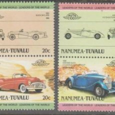 Sellos: TUVALU - NANUMEA 1985 IVERT 6 *** COCHES ANTIGUOS - AUTOMÓVILES. Lote 257280680