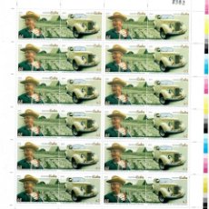 Sellos: ⚡ DISCOUNT CUBA 2012 TOBACCO PRODUCTION - ALEJANDRO ROBINA, 1919-2010 MNH - CARS, TOBACCO. Lote 260495370