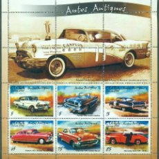 Sellos: ⚡ DISCOUNT CUBA 2002 CLASSIC CARS - SINGLE STAMPS HAVE WHITE FRAME MNH - CARS. Lote 260548920
