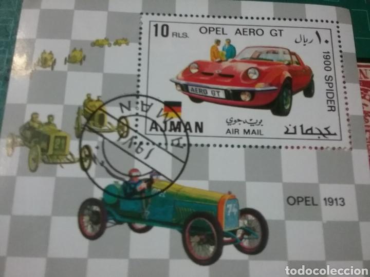 HB AJMAN ESTADO (E.A.U) MTDA/1971/AUTOMOVIL/COCHES/CLÁSICOS/VEHÍCULO/CARRERA/DEPORTE/TRANSPORTE/CAR/ (Sellos - Temáticas - Automóviles)