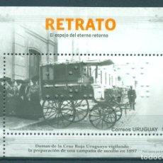Sellos: ⚡ DISCOUNT URUGUAY 2013 2013 PHILATELIC ALMANAC - BRAILLE EDITION, CAR MNH - CARS. Lote 266186008