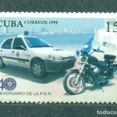 Sellos: ⚡ DISCOUNT CUBA 1999 THE 40TH ANNIVERSARY OF THE NATIONAL REVOLUTIONARY POLICE MNH - CARS, M. Lote 266196593