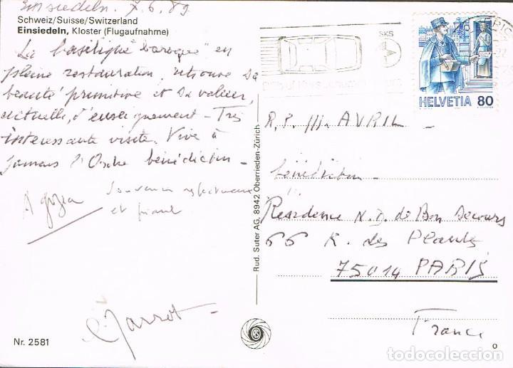 SUIZA, EN CARRETERA VELOCIDAD MODERADA, RODILLO DEL 7-6-1989 (Sellos - Temáticas - Automóviles)