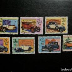 Timbres: /10.08/-VIETNAM-1985-SERIE COMPLETA EN USADO/º/. Lote 280716223