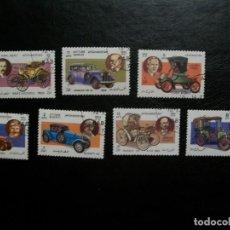 Selos: /10.08/-AFGANISTAN-1984-SERIE COMPLETA EN USADO/º/-COCHES CLASICOS. Lote 280716688