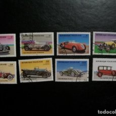 Selos: /10.08/-TOGOLAISE-1984-SERIE COMPLETA EN USADO/º/-COCHES CLASICOS. Lote 280717528