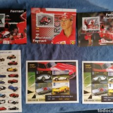 Timbres: COCHES LOTE SERIES SELLOS SERIES NUEVOS ***. Lote 284351358