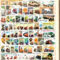Sellos: LOTE 200 SELLOS MUNDIALES. TEMÁTICA AUTOMÓVILES.. Lote 285289903