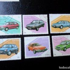 Sellos: *LAOS, 1987, AUTOMÓVILES. Lote 288068323