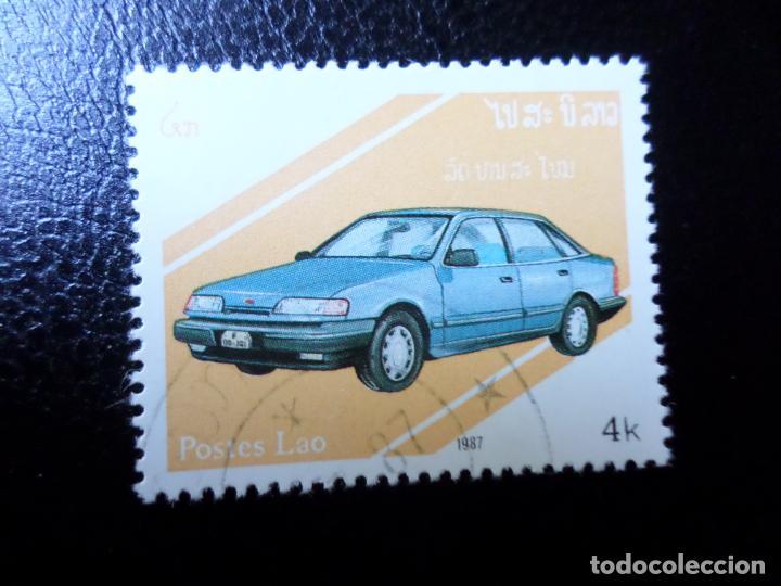 *LAOS, 1987, AUTOMÓVILES (Sellos - Temáticas - Automóviles)