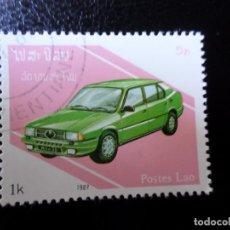 Sellos: *LAOS, 1987, AUTOMÓVILES. Lote 288068918