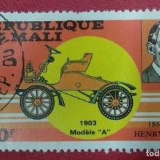 Sellos: REPUBLIQUE DU MALI. HENRY FORD 1863- 1947. Lote 288291608