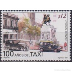 Sellos: ⚡ DISCOUNT URUGUAY 2002 THE 100TH ANNIVERSARY OF THE TAXI SERVICE MNH - CARS, TAXI. Lote 289982608