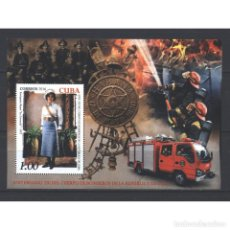 Sellos: ⚡ DISCOUNT CUBA 2016 THE 320TH ANNIVERSARY OF CUBA FIRE DEPARTMENT MNH - CARS, FIRE, LIFEGUA. Lote 296028698