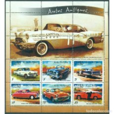 Sellos: ⚡ DISCOUNT CUBA 2002 CLASSIC CARS - SINGLE STAMPS HAVE WHITE FRAME MNH - CARS. Lote 296032233