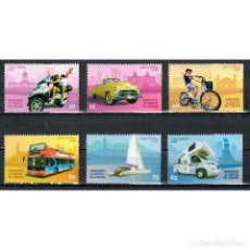 Sellos: ⚡ DISCOUNT CUBA 2018 TRANSPORT IN SERVICE TO TOURISM MNH - CARS, MOTORCYCLES, BICYCLES, TRAN. Lote 296033153