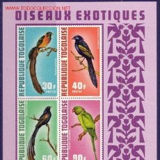 Sellos: TOGO HB 63*** - AÑO 1972 - FAUNA - AVES . Lote 23954091