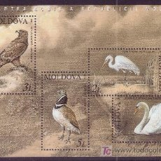 Sellos: MOLDAVIA HB 32*** - AÑO 2003 - FAUNA - AVES . Lote 23007481