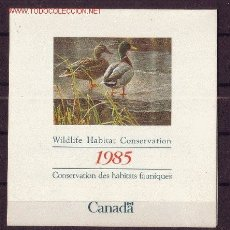 Sellos: CANADÁ *** - AÑO 1985 - FAUNA - AVES - PATOS. Lote 15843963
