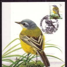 Sellos: BELGICA 2715 - AÑO 1997 - FAUNA - AVES. Lote 14840603