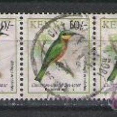 Stamps - KENYA RARA TIRA DEL TEMA PAJAROS - 22358479