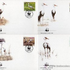 Sellos: MALAWI AÑO 1987 YV 489/92 SPD - WWF - CONSERVACIÓN DE LA FAUNA - AVES. Lote 27236698