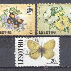 Sellos: LESOTHO- TEMA MARIPOSAS. Lote 24412015