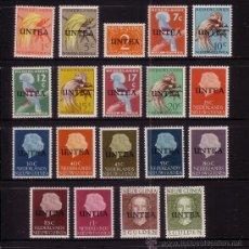 Sellos: NUEVA GUINEA HOLANDESA UNTEA 1/19*** - AÑO 1962 - FAUNA - AVES . Lote 25208710