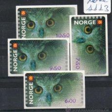 Sellos: NORUEGA=YVERT Nº TIMBRES DE DISTRIBUIDORES=TEMA NATURALEZA-FAUNA-AVES==REF:F018. Lote 38344068