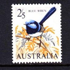 Sellos: AUSTRALIA 296** - AÑO 1963 - FAUNA - AVES. Lote 52851765