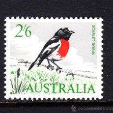 Sellos: AUSTRALIA 297** - AÑO 1963 - FAUNA - AVES. Lote 52851770