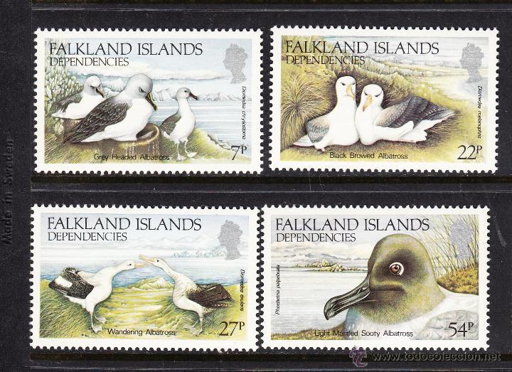 FALKLAND DEPENDENCIAS 141/44** - AÑO 1985 - FAUNA - AVES - ALBATROS (Sellos - Temáticas - Aves)