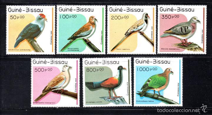 GUINEA BISSAU 507/13** - AÑO 1989 - FAUNA - AVES (Sellos - Temáticas - Aves)
