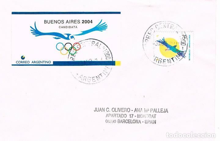 ARGENTINA 2275, CÓNDOR DE LOS ANDES, MATASELLO DE 3-4-1997 (Sellos - Temáticas - Aves)