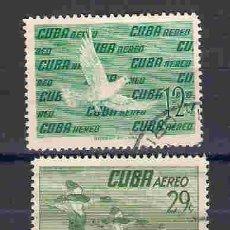 Timbres: AVES DE CUBA. SELLOS AÑO 1956. Lote 86056364