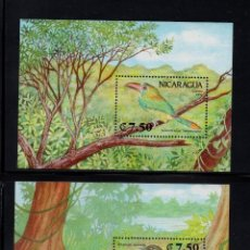 Sellos: NICARAGUA HB 205/06** - AÑO 1991 - FUANA - AVES . Lote 87103660