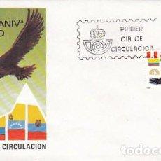 Sellos: EDIFIL 2778, EL CONDOR, 25 ANIVº DEL PACTO ANDINO, PRIMER DIA DE 16-1-1985 SFC. Lote 91276235