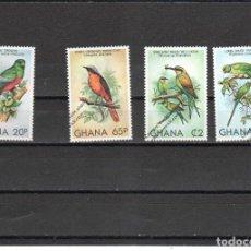 Sellos: GHANA Nº 700 AL 703 (**). Lote 98632343