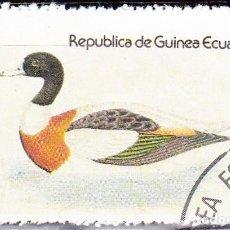 Sellos: 1978 - GUINEA ECUATORIAL - AVES ACUATICAS - SHIELDRAKE - TADORNA TADORNA. Lote 98669755