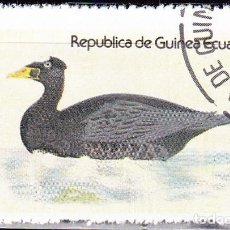 Sellos: 1978 - GUINEA ECUATORIAL - AVES ACUATICAS - SURF SCOTER - NEGRON COMUN. Lote 98670091