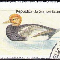 Sellos: 1978-GUINEA ECUATORIAL - AVES ACUATICAS - RED CRESTED WING DUCK. Lote 98670411