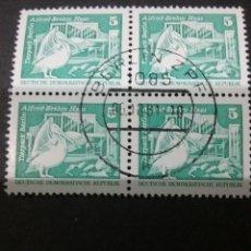 Sellos: SELLOS DE LA R. D. ALEMANA (DDR) MTDOS. 1973. ZOO. ANIMALES. PALICANO. AVES. PAJAROS. EDIFICIO.. Lote 106102672