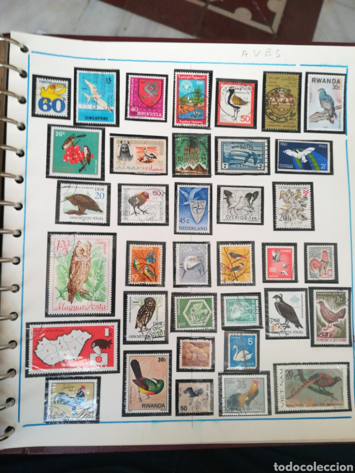 Sellos: 105 sellos temática Aves. - Foto 4 - 107712670