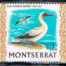 Sellos: MONTSERRAT, PIQUERA DE PATAS ROJAS, NUEVO ***. Lote 119340059