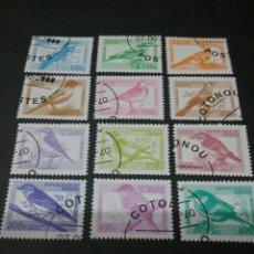 Sellos: SELLOS REPUBLICA DE BENIN MATASELLADOS. 2000. PAJAROS. ANIMALES. NATURALEZA. FAUNA. PLANTAS.. Lote 121191475