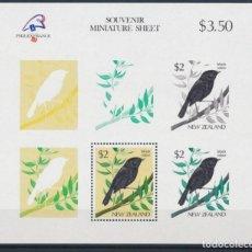 Sellos: SELLOS NUEVA ZELANDA 1989 AVES. Lote 134159142