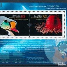 Sellos: CANADA 2007 AÑO POLAR INTERNACIONAL 2007-2008. Lote 134617034