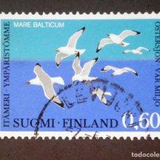 Sellos: 1974 FINLANDIA PROTECCIÓN BÁLTICO GAVIOTA ARGÉNTEA. Lote 138830554